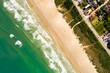Paradise Beach by a Drone