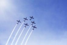 Jet Planes Showing Beautiful M...
