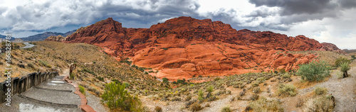 Foto op Canvas Baksteen Desert Canyon