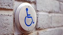 Push To Open Disabled Button  In Montreal