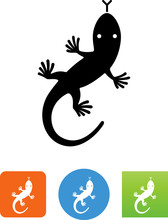Lizard Icon - Illustration