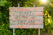 Dare To Dream Motivational Quo...