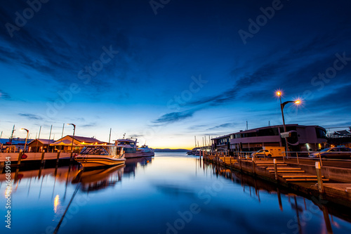 Tasmanian Waterfront Landscape, Australia © James Ser