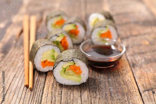 Fényképezés  sushi