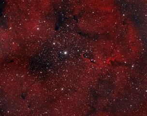 IC 1396 Nebula in Cepheus Constellation.