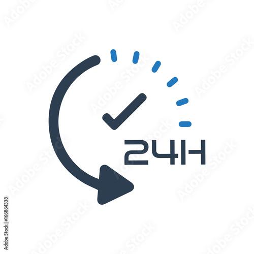 Photo 24hour Service Icon
