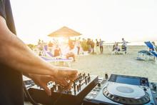 Dj Mixing At Sunset Beach Part...