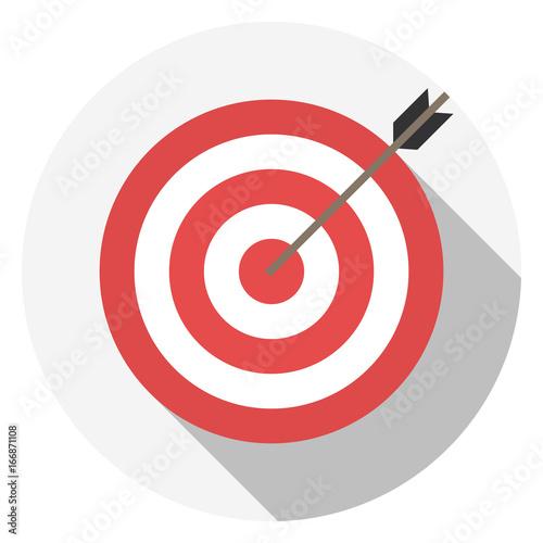 Fotografía  Red target icon