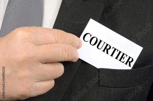 Cuadros en Lienzo Le courtier