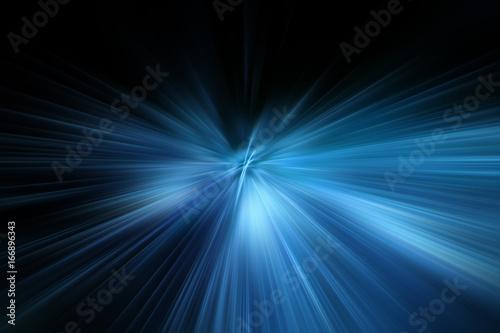 Esplosione di luce Fototapeta