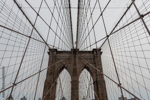 Poster Brooklyn Bridge Brooklyn Bridge at dusk