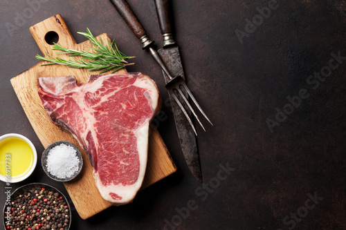 Foto  T-bone steak