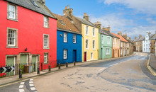 Anstruther, Small Town In Fife, Scotland