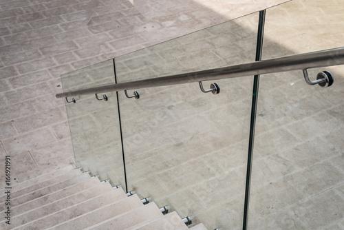 Fotografía  poręcz szklana balustrada