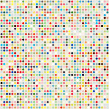 Colored Dots Background Template