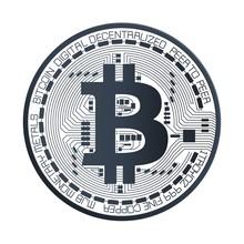 Bitcoin Digital Currency Vector