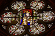 Queen Victoria Stained Glass C...