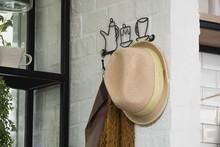 Coat And Hat Hanger Wall.