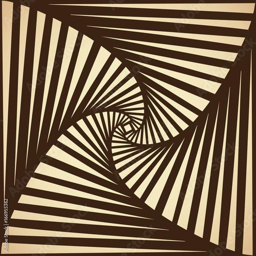 Fotografía  Rolled striped pattern