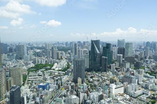 Foto op Aluminium Tokyo 東京風景 8月 六本木からスカイツリー方面