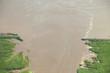 Hochwasser zerstört Straße