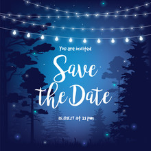Save The Date Vector Illustrat...