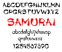 Samurai Print Template
