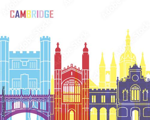 Carta da parati Cambridge skyline pop