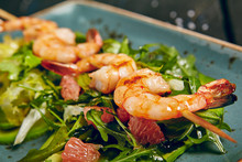 Shrimp And Avocado Salad With ...