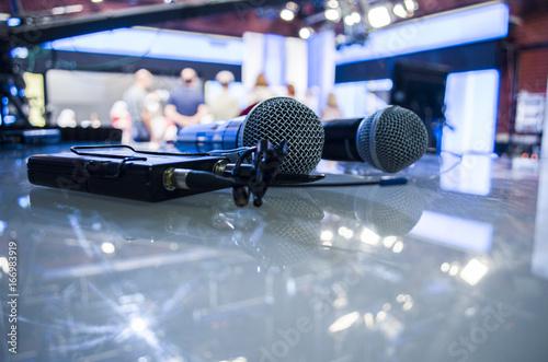 Fényképezés  Audio microphone and audio equipment