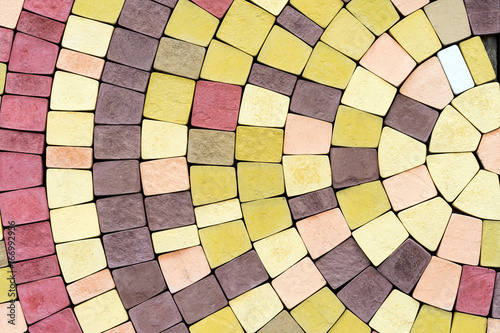 Photo colored tiles ,surface, background