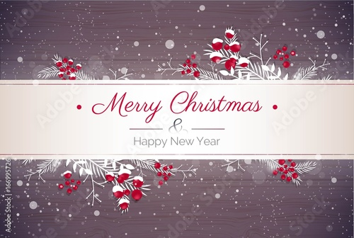 Merry christmas and Happy new year 2018 holiday background. Happy ...
