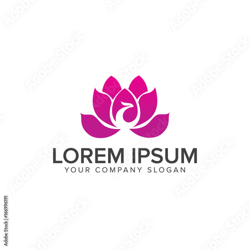 spa aesthetic logo design concept template buy this stock vector