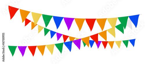 Valokuva  Multi Colored flags