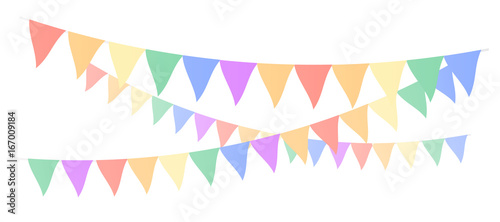 Multi Colored flags Canvas-taulu