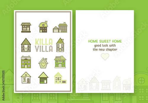 New house greeting card layout 1 buy this stock template and new house greeting card layout 1 m4hsunfo