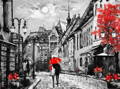 obraz-olejny-na-plotnie-europejskie-miasto-wegry-widok-ulicy-z-budapesztu-grafika
