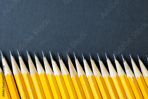 Photo Pencils with Black background