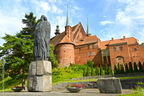 FROMBORK, POLAND Canvas Print