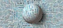 Big Data Globe In Gravitation