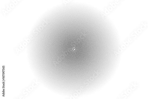 Tuinposter Spiraal spirale de cercle