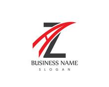 A Z Letter Logo Design