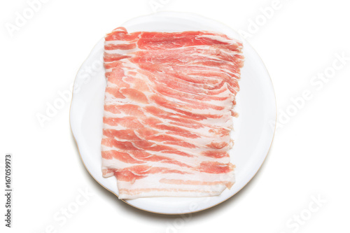 Spoed Foto op Canvas Klaar gerecht 豚バラ肉