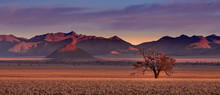 Beautiful Landscape Photographed In The Namib Rand Reserve National Park