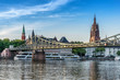 The Eiserner Steg bridge in Frankfurt Am Main