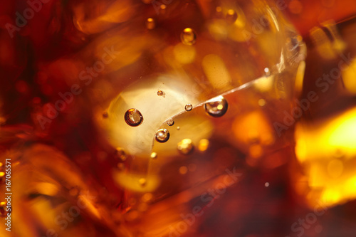 Fotografie, Tablou  cola with ice cubes