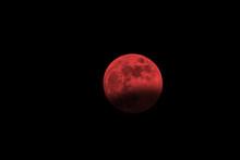 Lunar Eclipse. Blood Moon