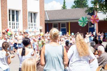 Sommerfst einer Grundschule