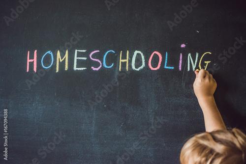 Valokuvatapetti Homeschooling