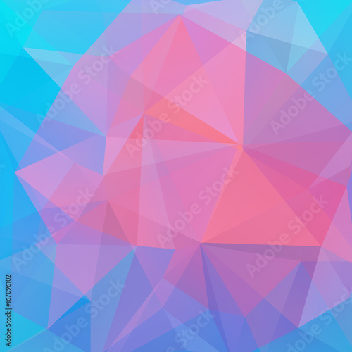 Abstract Mosaic Background Triangle Geometric Background